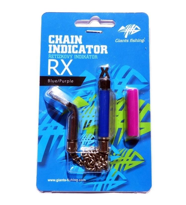 Řetízkový indikátor Chain Indicator RX Blue/Purple