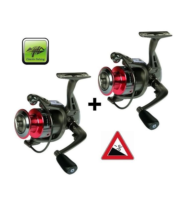 Naviják Ginats Fishing SPX 3000 FD, akce 1+1 Zdarma!