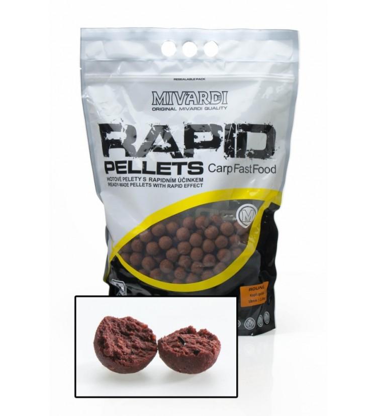 Kuličkové pelety Rapid Cherry 2,5 kg 18 mm