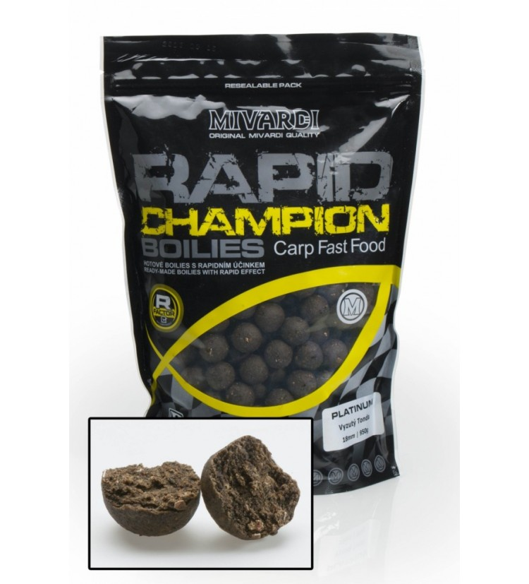Rapid Champion Platinum - Vyzutý Tonda 950g 24mm