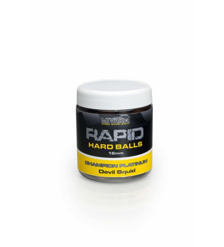 Rapid Hard Balls Champion Platinum - Crazy Liver 18 mm