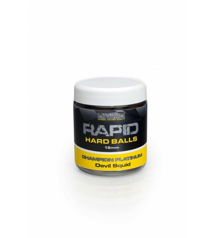 Rapid Hard Balls Champion Platinum - Devil Squid 18 mm
