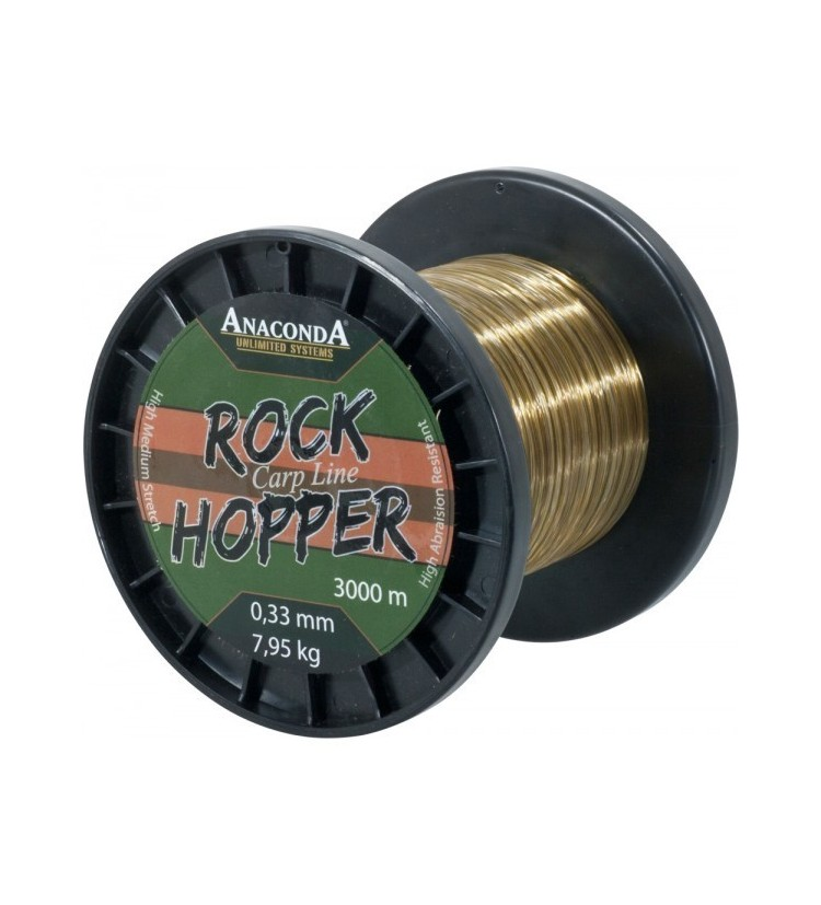 Vlasec Anaconda Rockhopper Line 1200m 0,40 mm 11,65kg