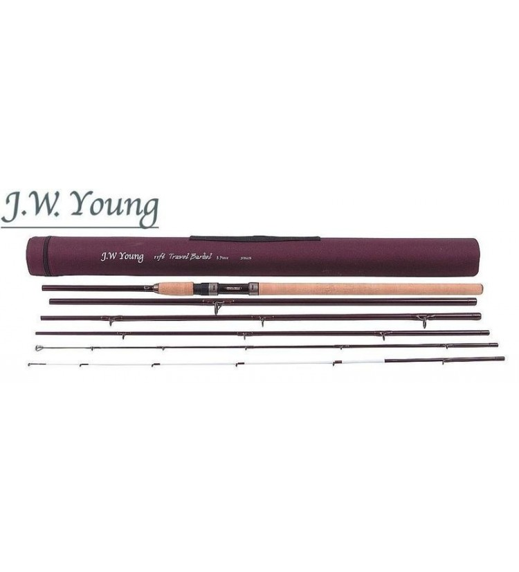 Prut J.W. Young Travel Barbel 3,6m, 1,75lb, + 2.díl 3oz (do 80g)