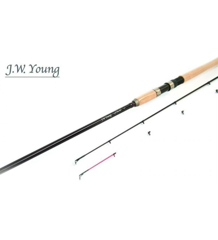 Prut J.W. Young Barbel 3,60m, 2lb + 2.díl 3oz (do 80g)