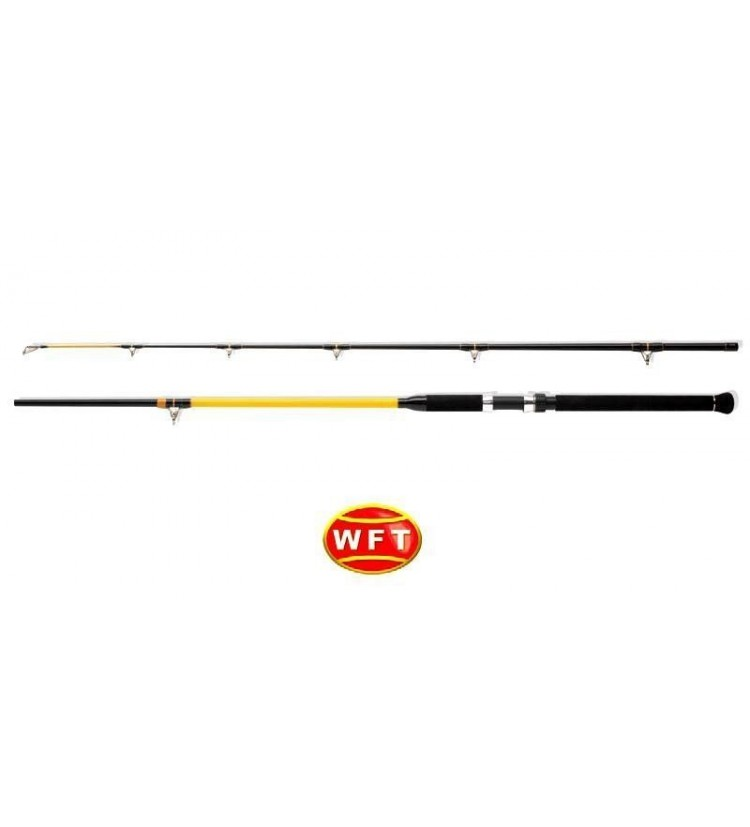 Prut WFT Never Crack Catfish Boat 2,40m, 250-1000g