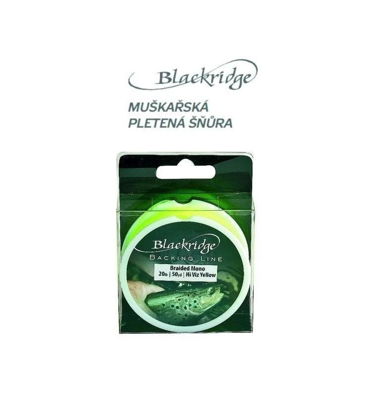 Muškařský pletený podklad černý Blackridge
