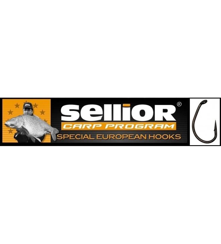 Háček Sellior Raptor balení po 10 ks (vel.1, 2, 4)