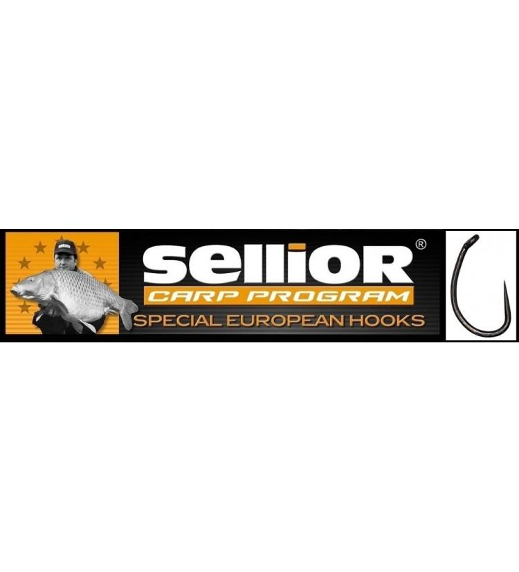 Háček Sellior Raptor balení po 10ks (vel. 2, 4) - bez protihrotu
