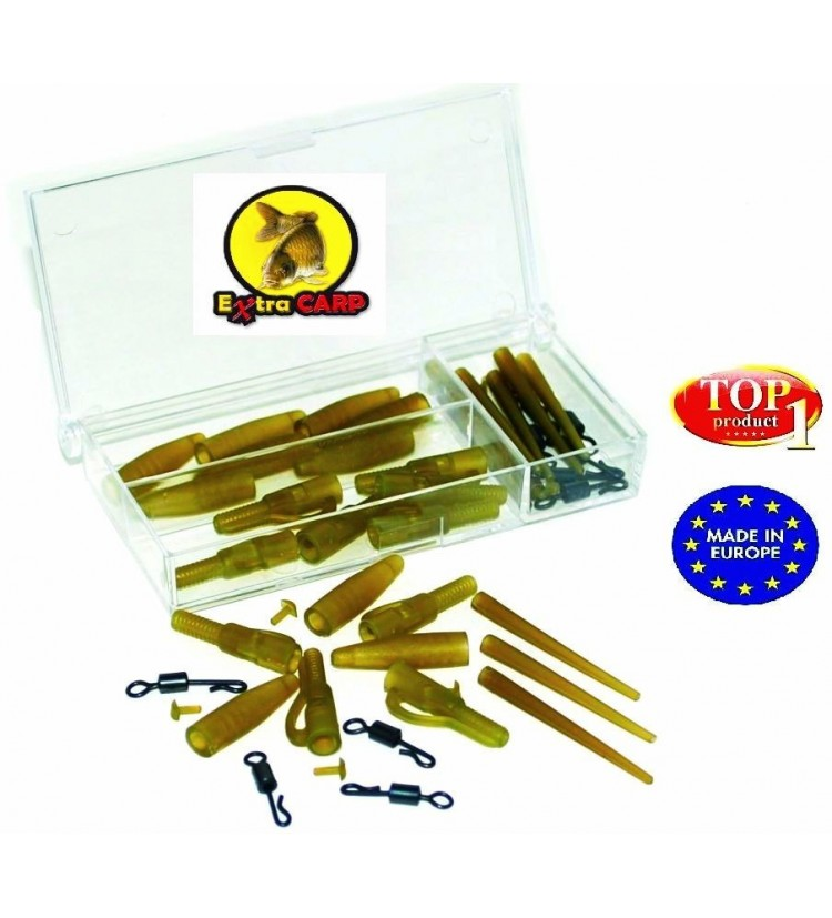Závěs Extra Carp Lead Clip With Quick Change Set - 10ks
