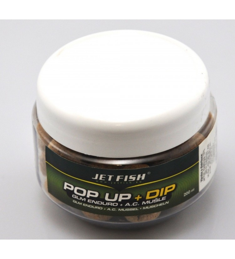 JET FISH POP UP 16mm Biosquid + biosquid