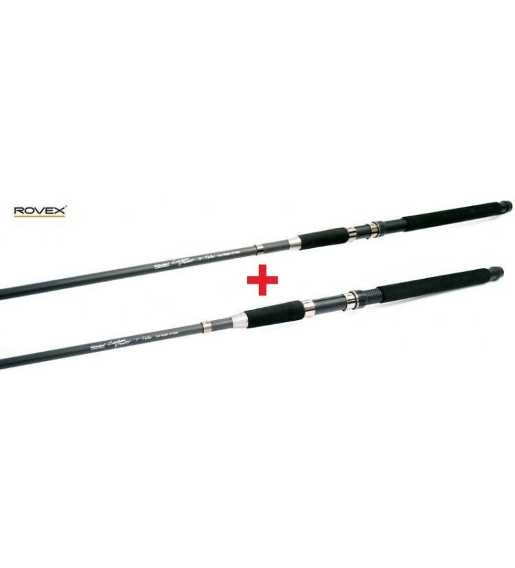 Prut ROVEX Carbon Power Tele Spin 2,10m, 10-25g / AKCE 1+1