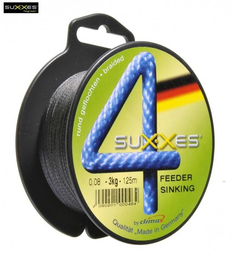 Šňůra splétaná SUXXES Feeder Sinking 0,10mm, 5kg