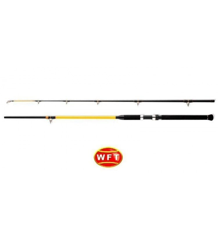 Prut WFT Never Crack Catfish Boat 3,0m, 250-1000g