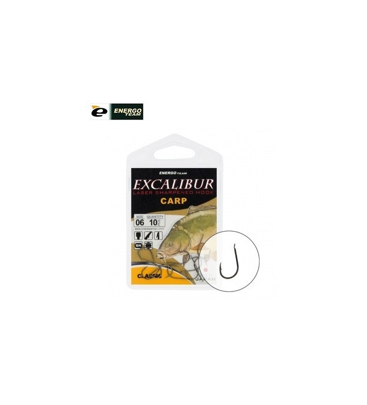 Háček EnergoTeam Excalibur carp clasic vel.4 / 10ks balení