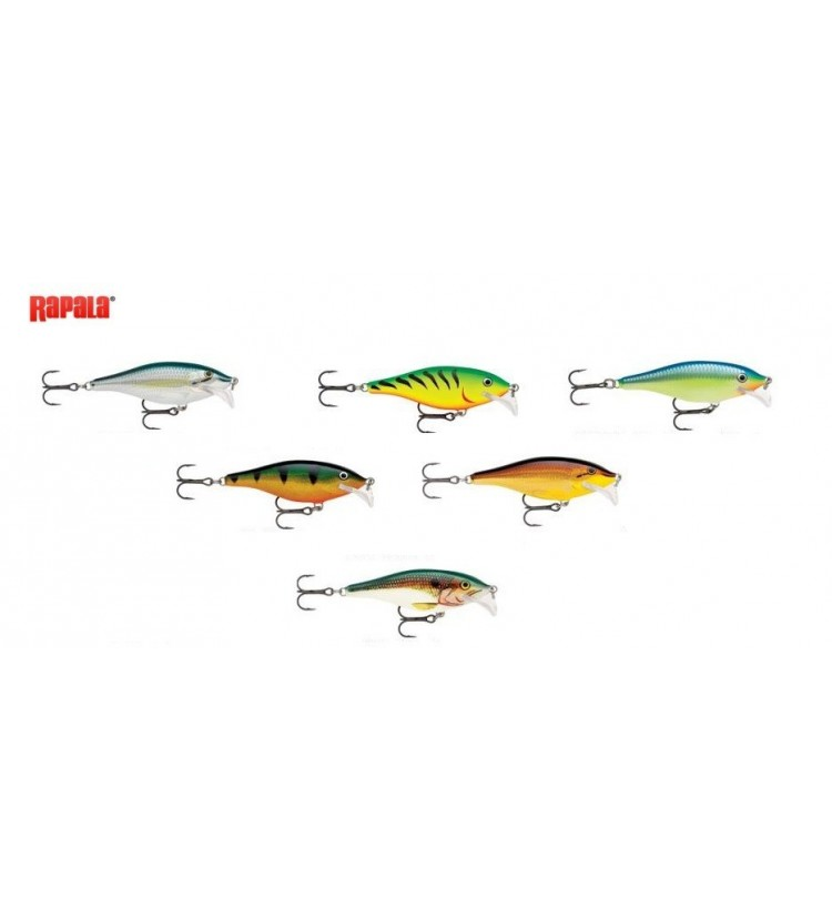Woblery Rapala Scatter Rap Shad 7cm