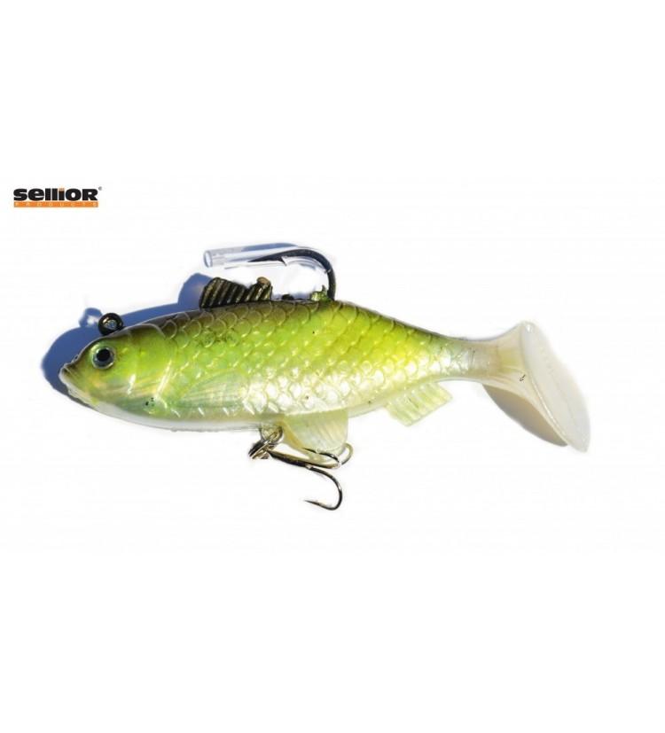 Gumová rybka Sellior J504 8cm / 2ks v balení