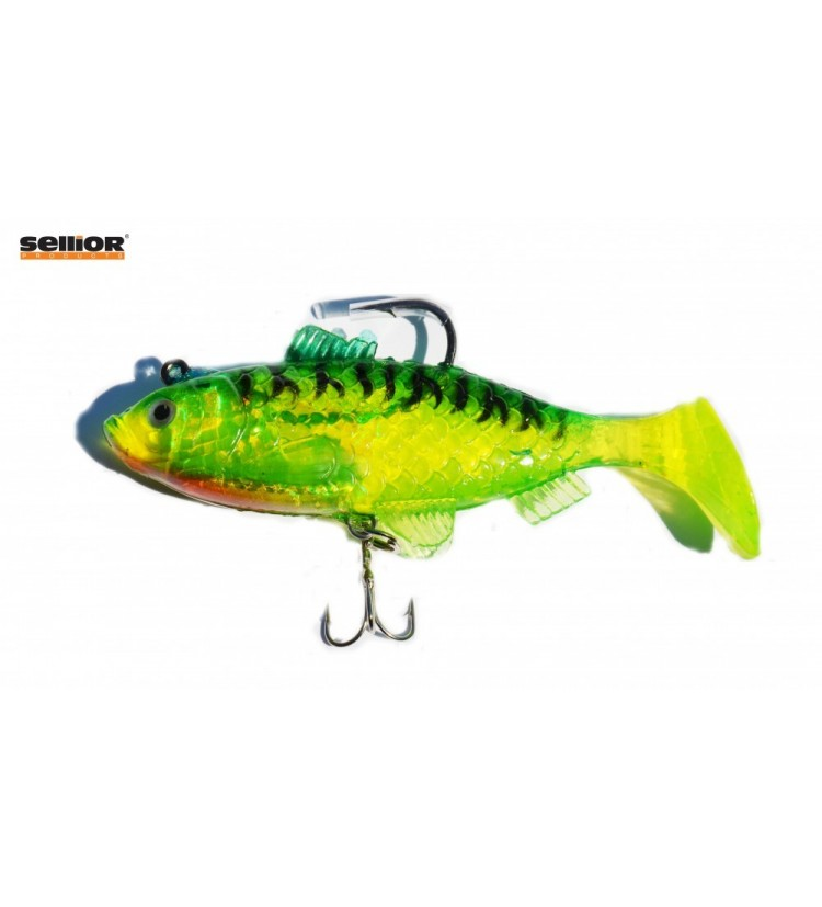 Gumová rybka Sellior J32 10cm / 2ks v balení