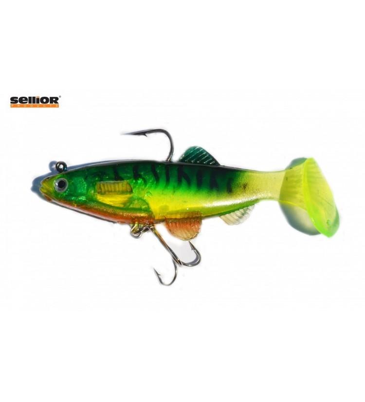 Gumová rybka Sellior J1016 10cm / 2ks v balení