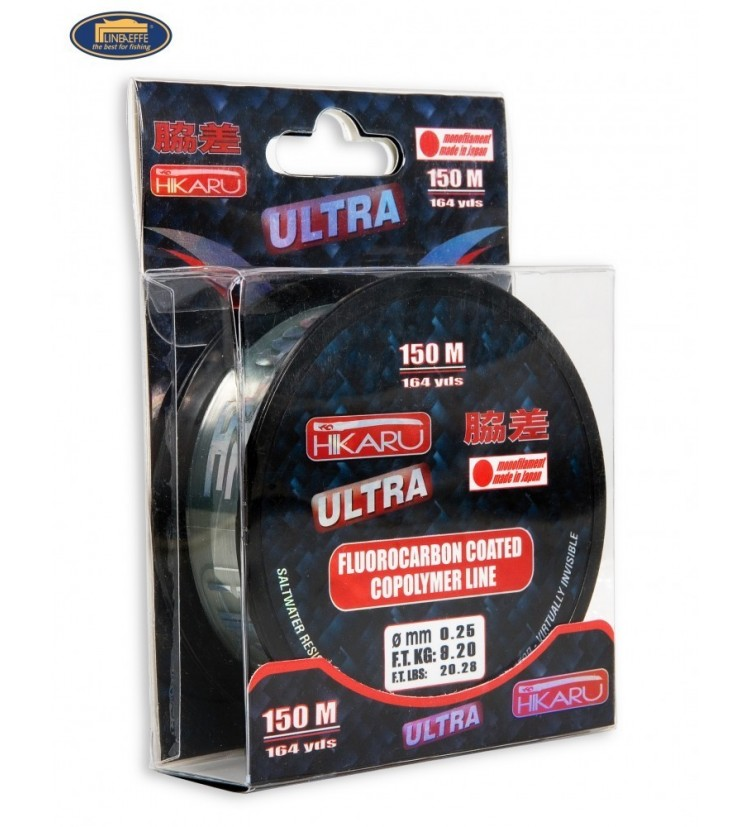 Fluorocarbon Lineaeffe Hikaru Ultra 0,20mm / 5,5kg / 150m