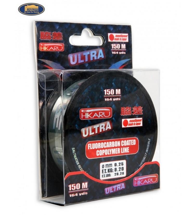 Fluorocarbon Lineaeffe Hikaru Ultra 0,25mm / 9,2kg / 150m