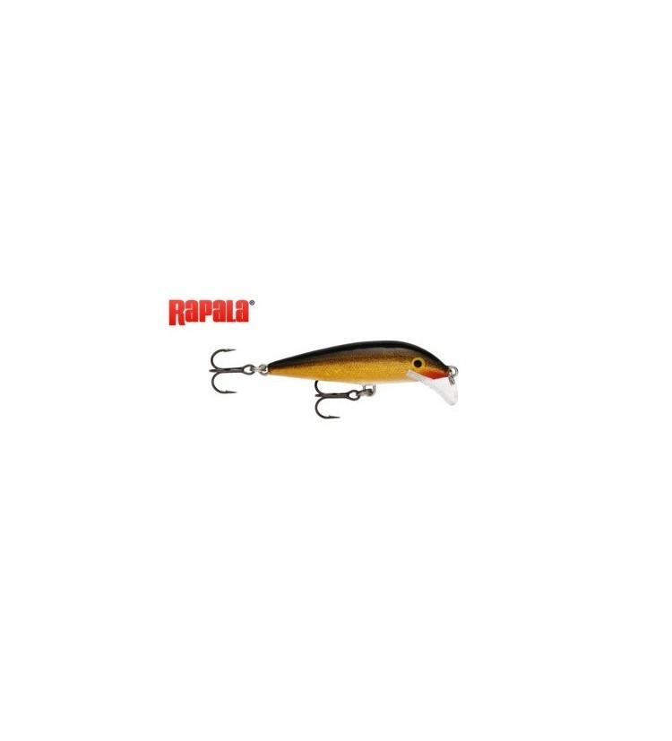 Wobler Rapala Scatter rap Countdown 7cm Gold