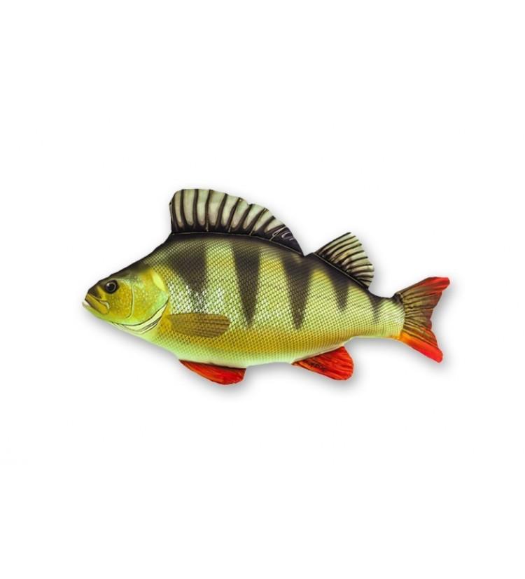 Polštář plyšová ryba Okoun