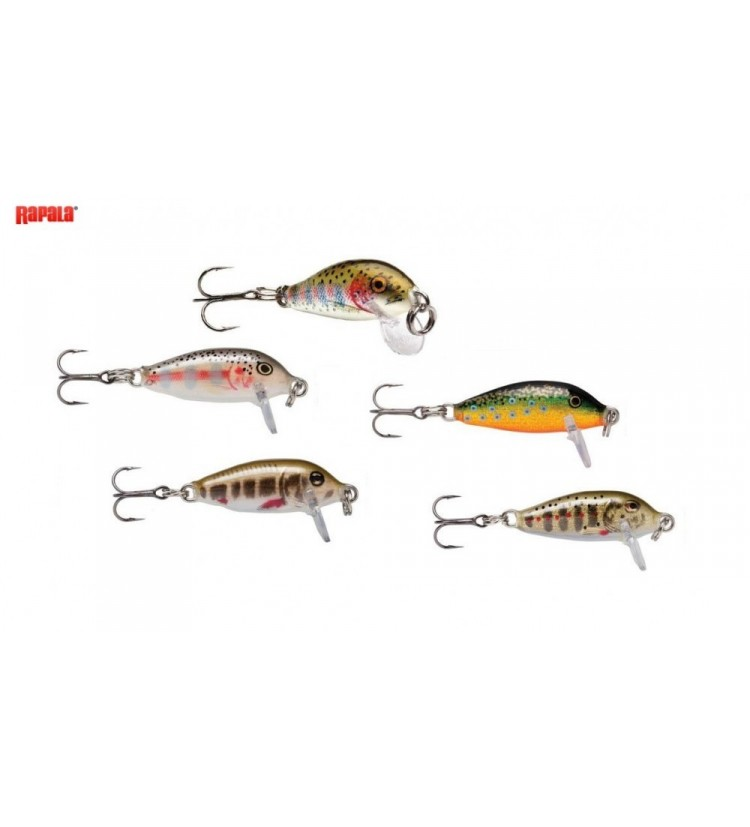 Woblery Rapala Sinking Countdown 2,5cm