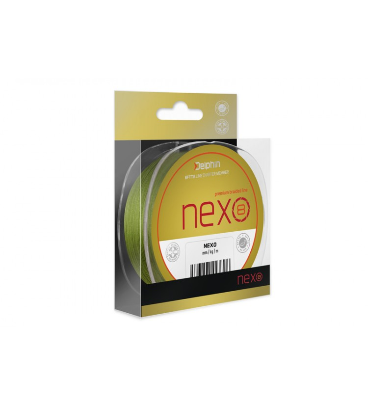Delphin NEXO 8 green | 0,08mm 300m