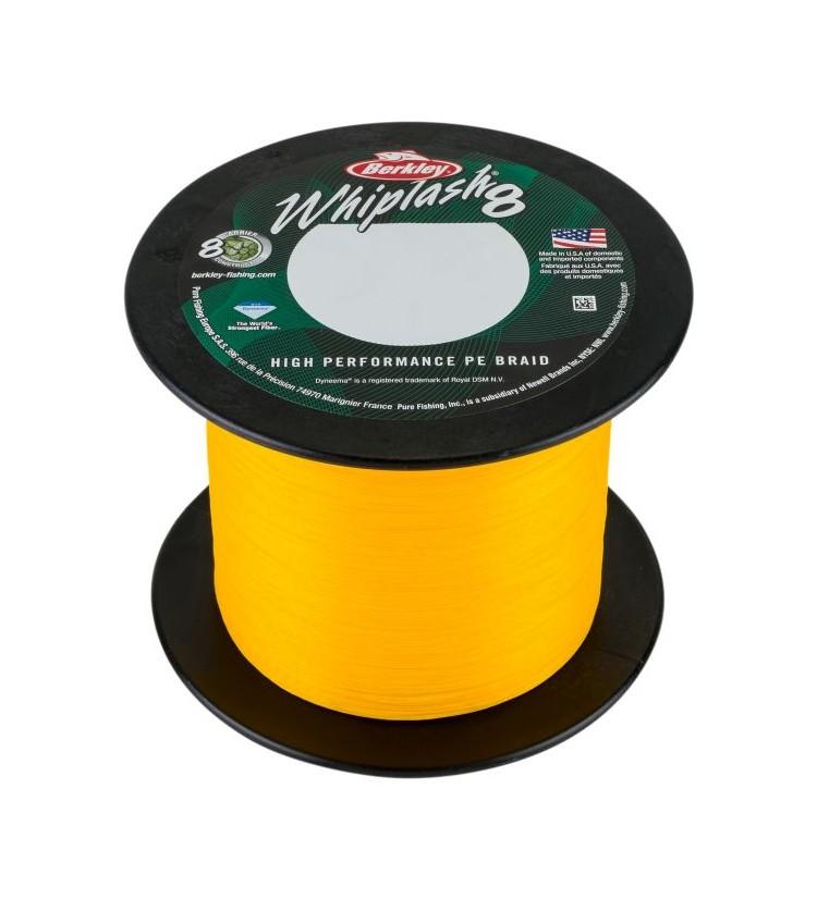 Berkley Splétaná Šňůra Whiplash 8 Yellow 0,06 mm / 10,9 kg