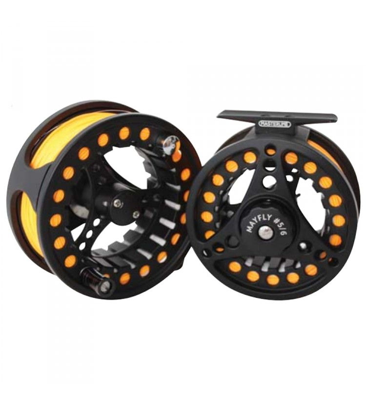 Masterline Mayfly Fly Reel With Line (Ready To Fish) 5/6