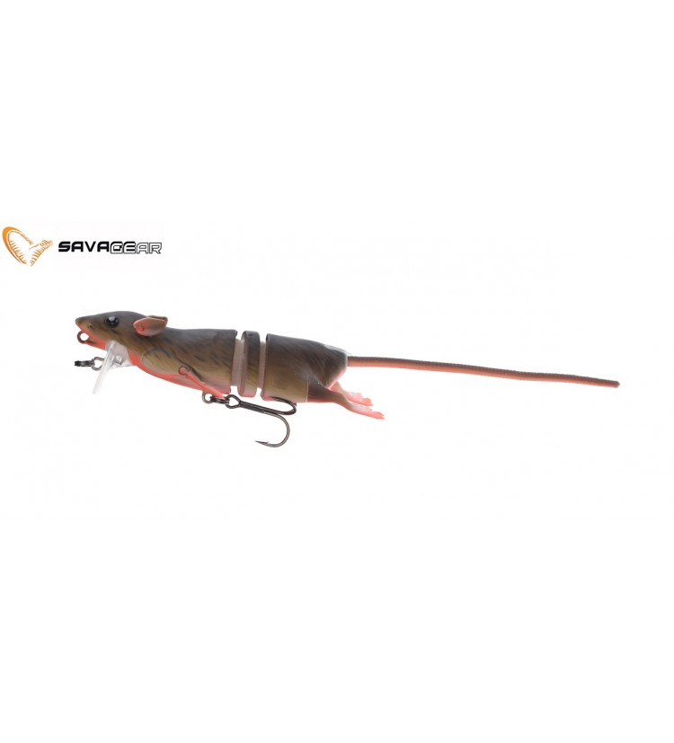 Savage Gear 3D Krysa 20cm - Bloody Red Belly