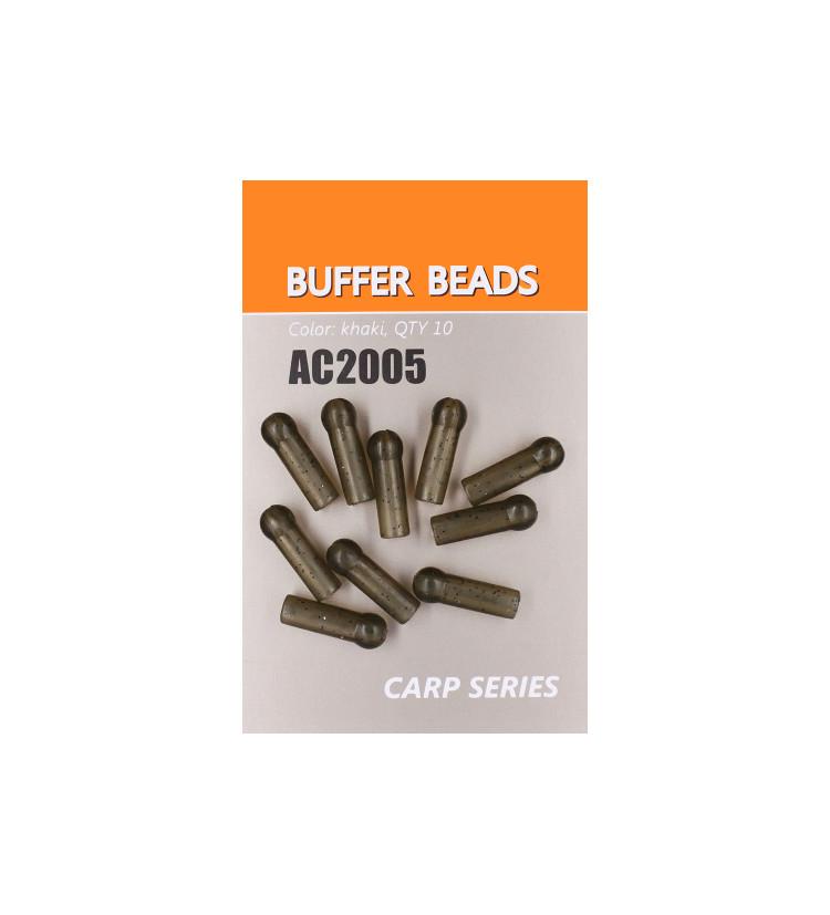 Life Orange zarážka Buffer Beads / 10ks