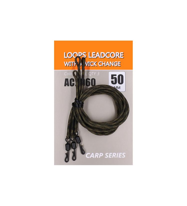 Life Orange olověnka Lead Core QC 50cm / 3ks