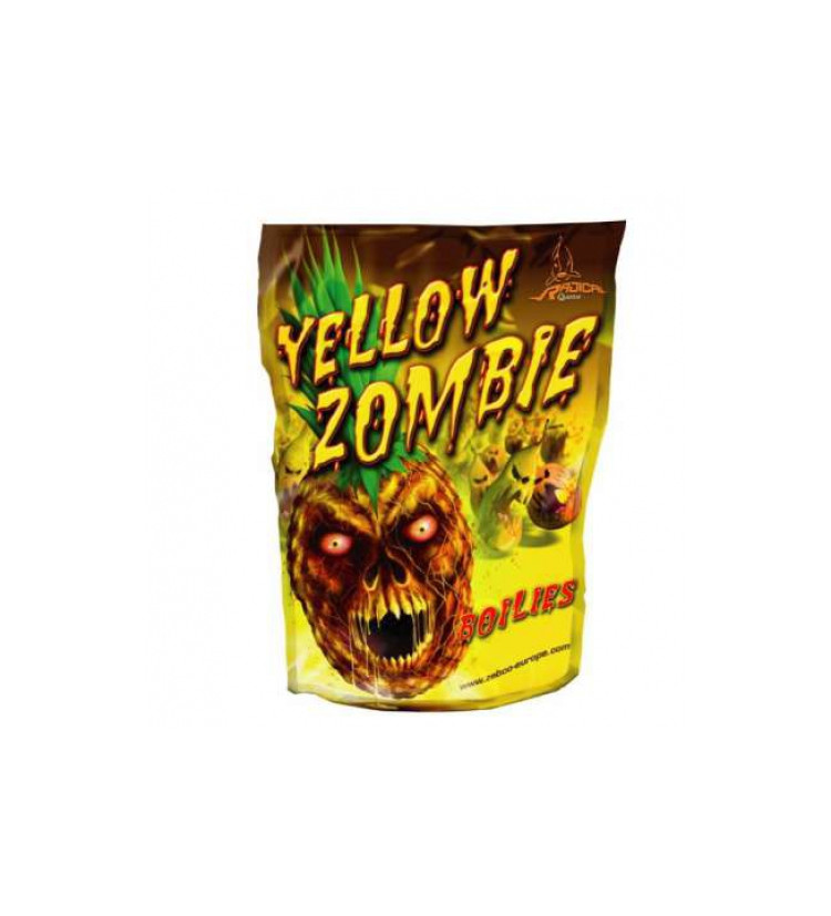 Boilies Radical 20mm 1kg Yellow Zombie