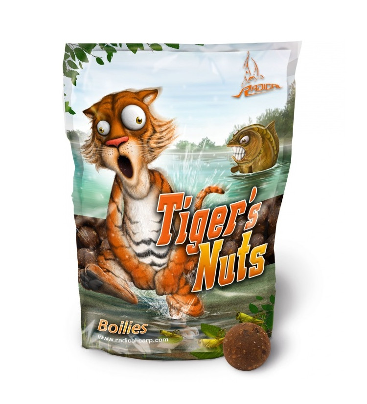 Boilies Radical 20mm 1kg Tiger´s Nuts