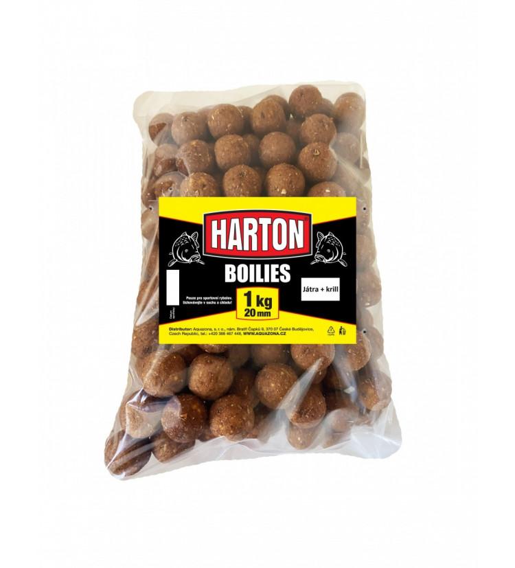 Harton Boillies 20mm / 1kg Játra + krill