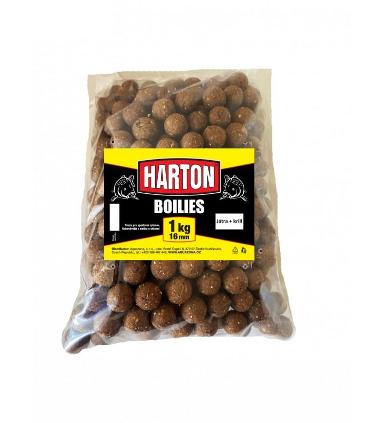Harton Boillies 16mm / 1kg Játra + krill