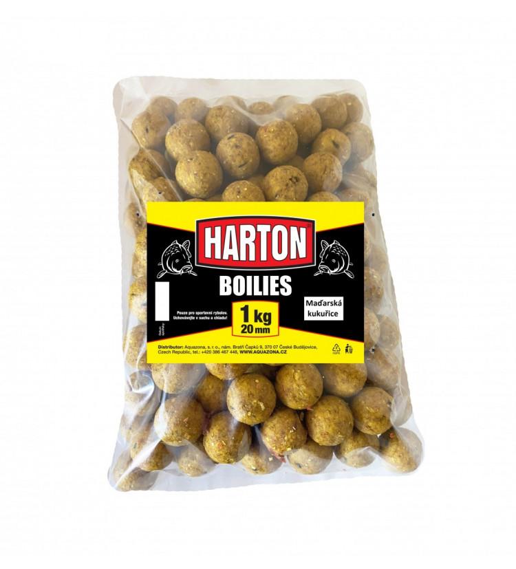 Harton Boillies 20mm / 1kg Maďarská kukuřice