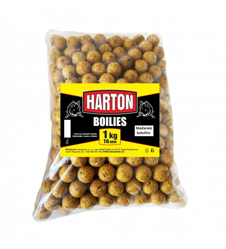 Harton Boillies 16mm / 1kg Maďarská kukuřice