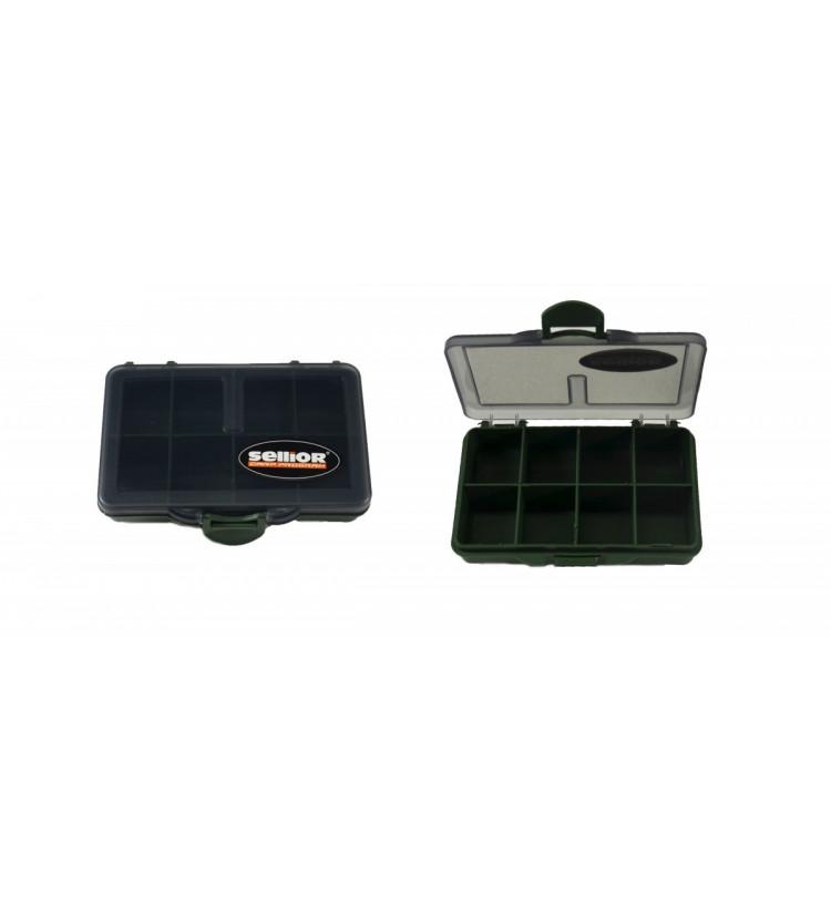 Krabička Sellior 10x7x2,5cm -osmikomorová