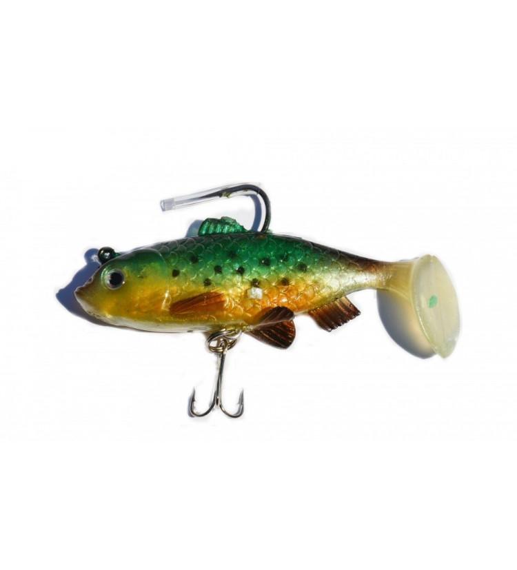 Gumová rybka Sellior J849 8cm / 2ks v balení