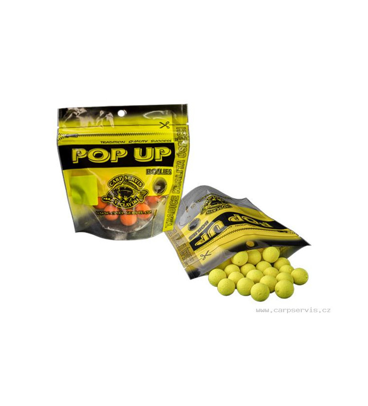 Pop Up Boilies Carp Servis Vácvlavík 40g / 10mm - neutrál
