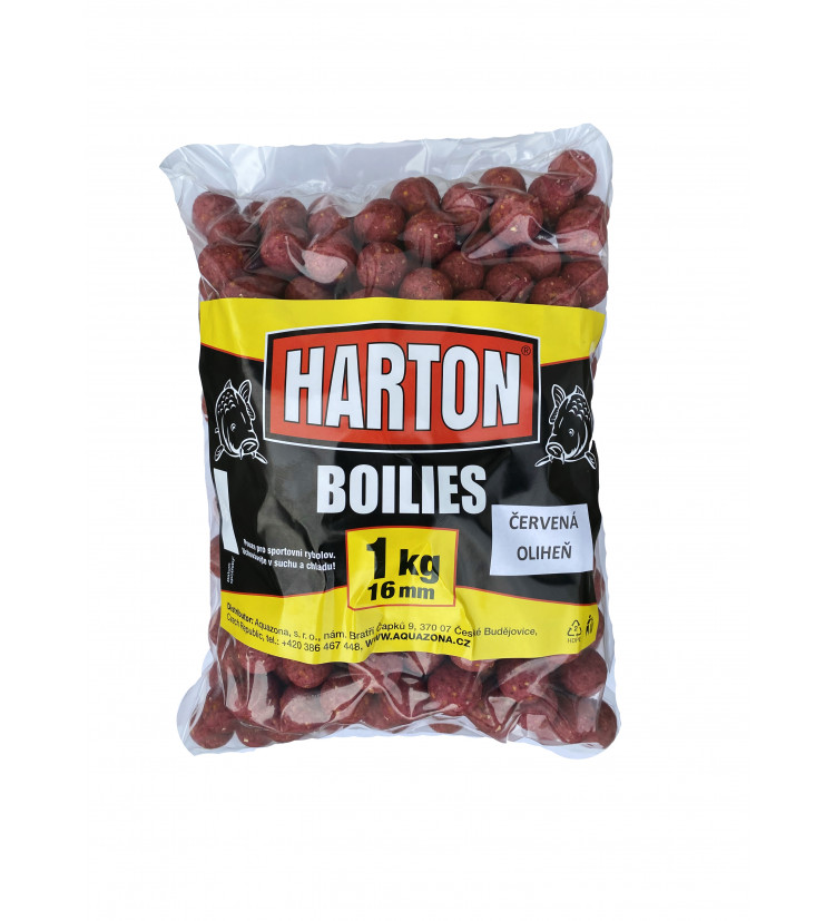 Harton Boillies 16mm / 1kg Červená oliheň