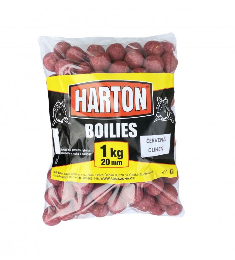 Harton Boillies 20mm / 1kg Červená oliheň