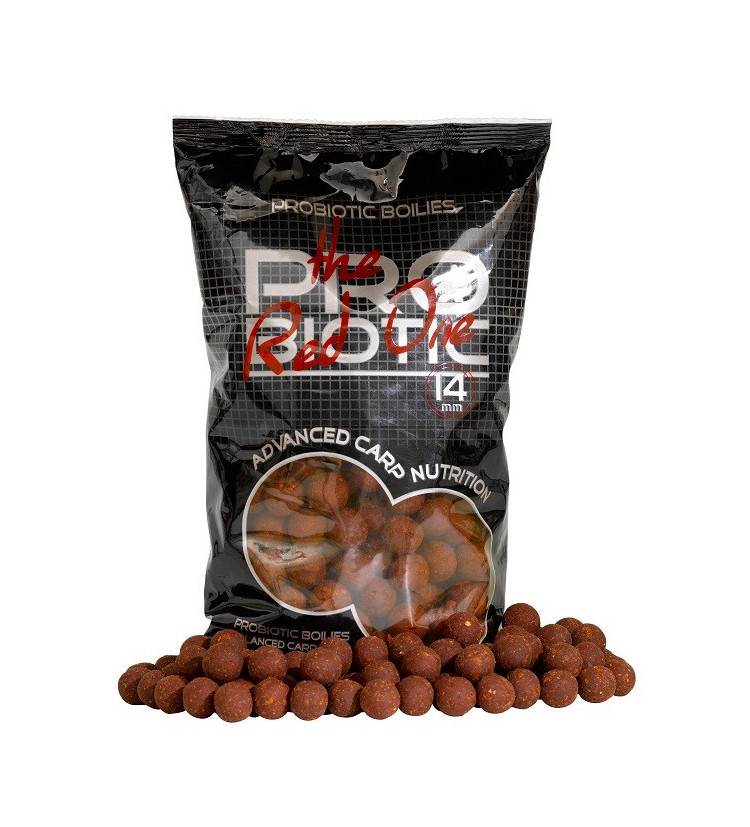 Starbaits Boilie Probiotic Red One 20 mm / 1 kg