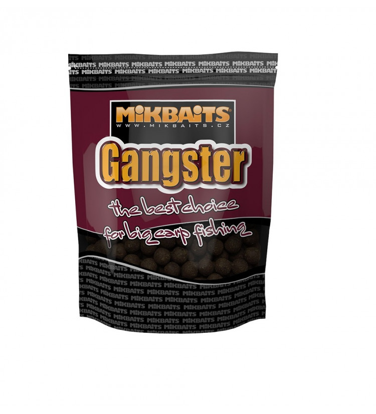 Mikbaits Boilie Gangster GSP Black Squid 1 kg 20 mm