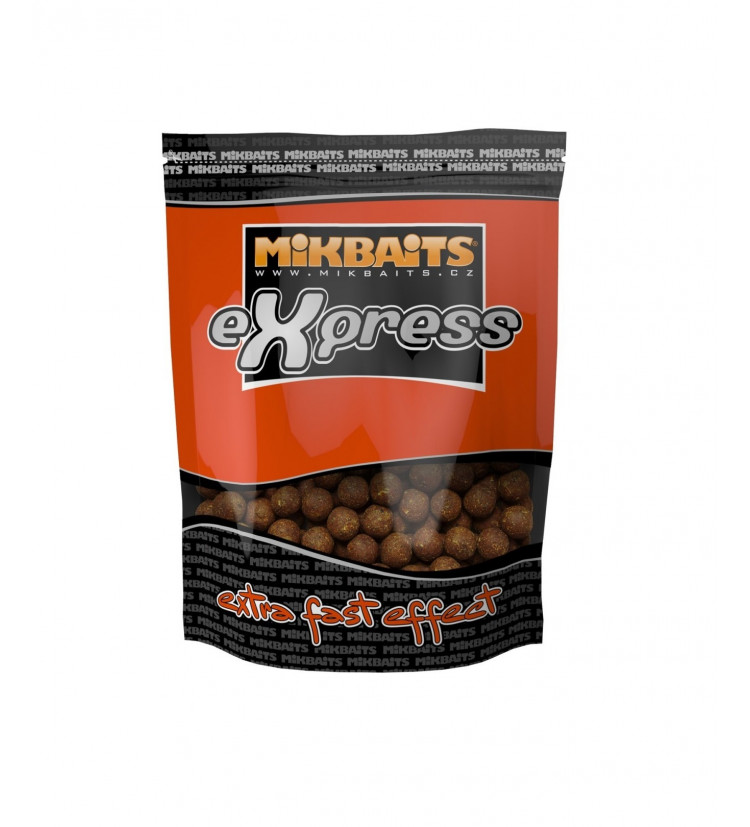 Mikbaits Boilie Express Mandarinka 1 kg 20 mm