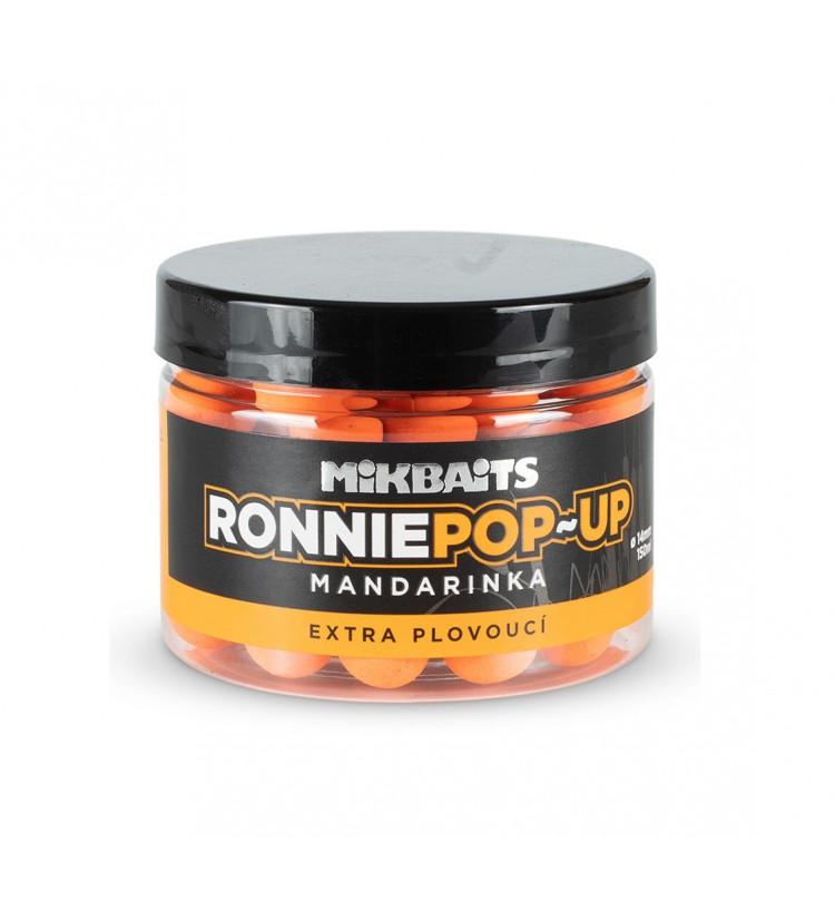 Mikbaits Plovoucí Boilie Ronnie Mandarinka 14 mm 150 ml