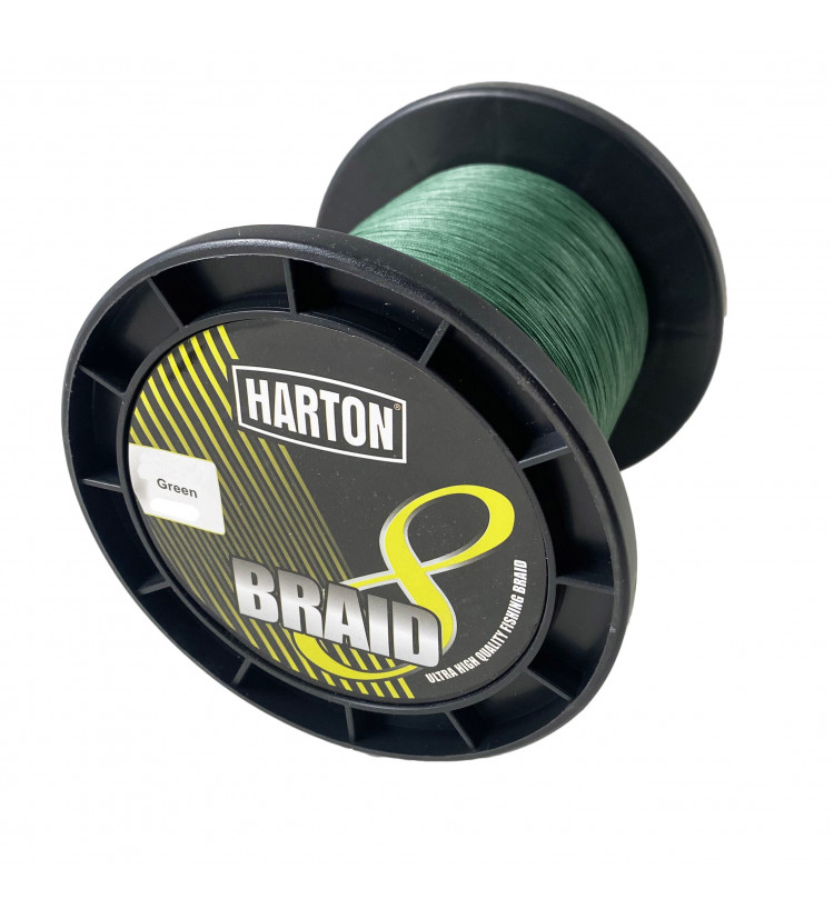 Harton pletená šňůra 8-Braid Green